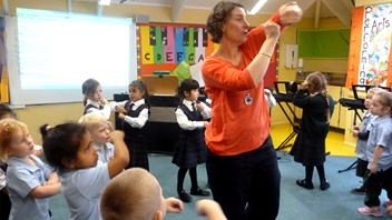 Specialist Music Teacher, Jenny Gould