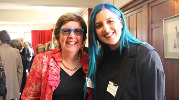 Anne Field, Pastoral Director with Marie-Jo