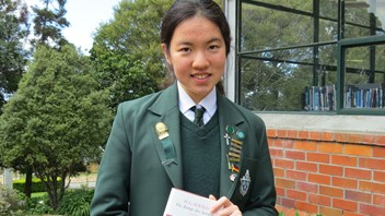 Celeste Pan - Outstanding New Zealand Scholar