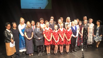 Contestants 2019 NZ Schools Chinese Song Contest Grand Final